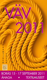 VEV2011 logo for Borsmessen